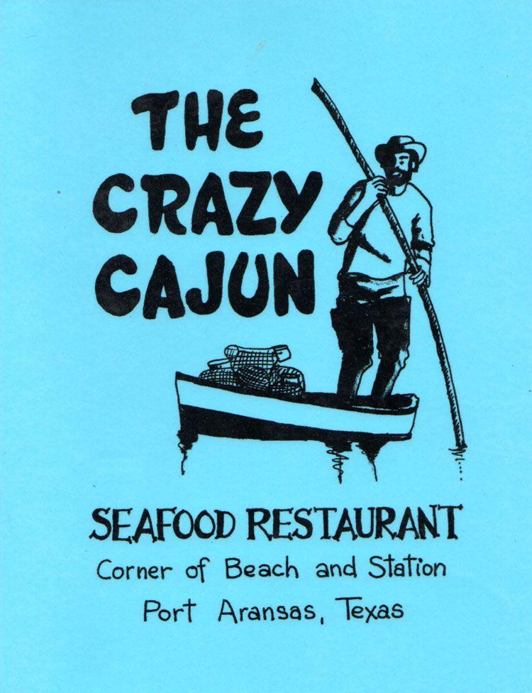 Crazy Cajun Seafood Restaurant Menu In Port Aransas Texas