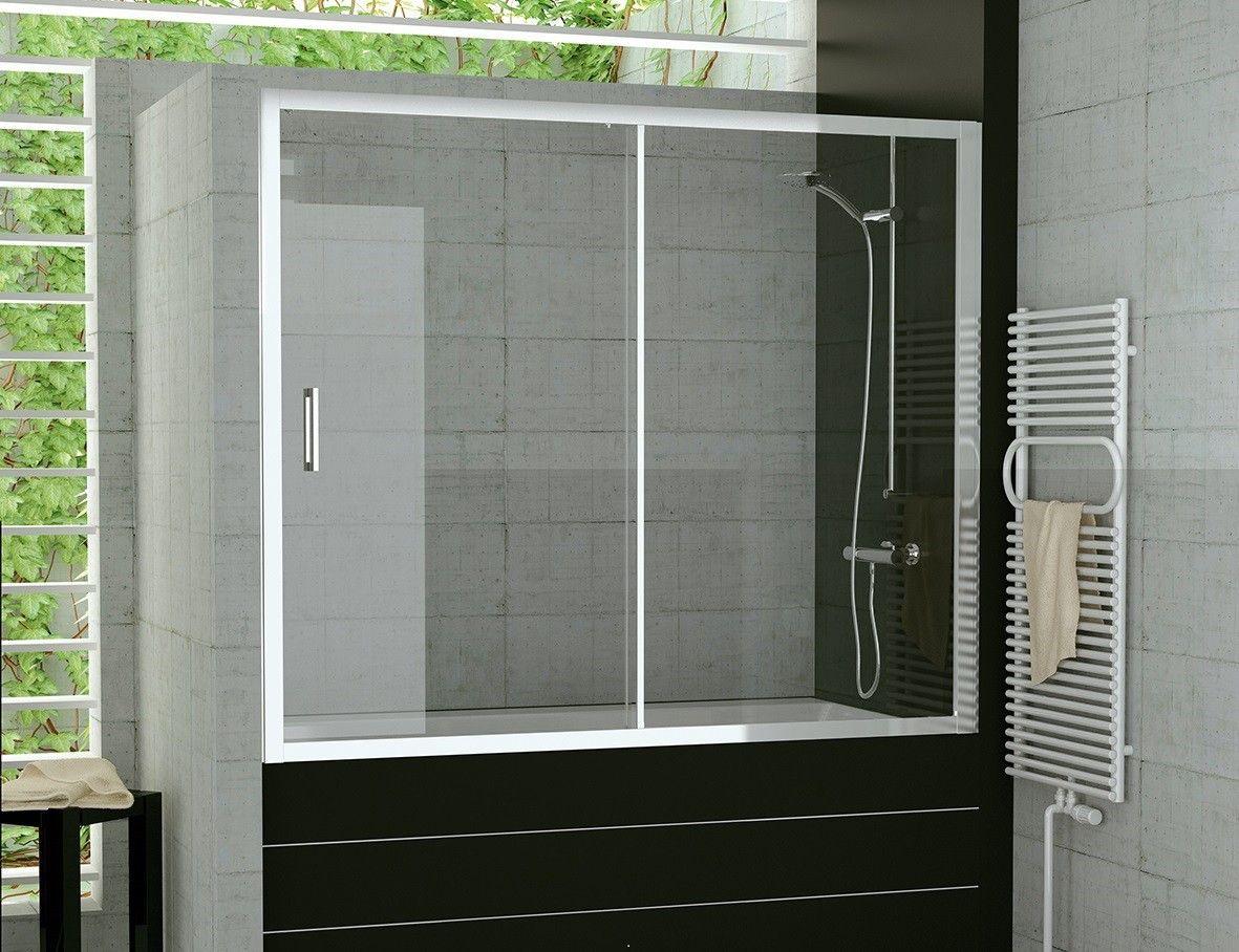 Badewanne Schiebetur 140 X 150 Cm Duschabtrennung Schiebetur
