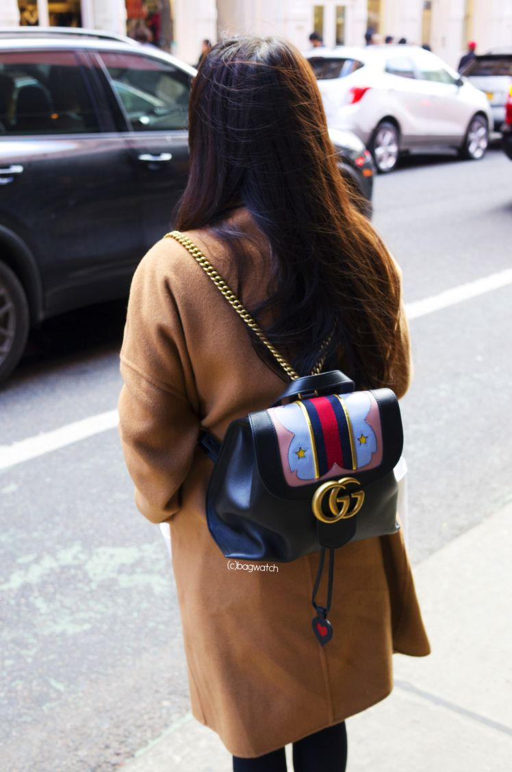 44cba60c32ed21 Pin by Bag Watch on Street Interviews | Gucci, Gucci marmont, Gg marmont