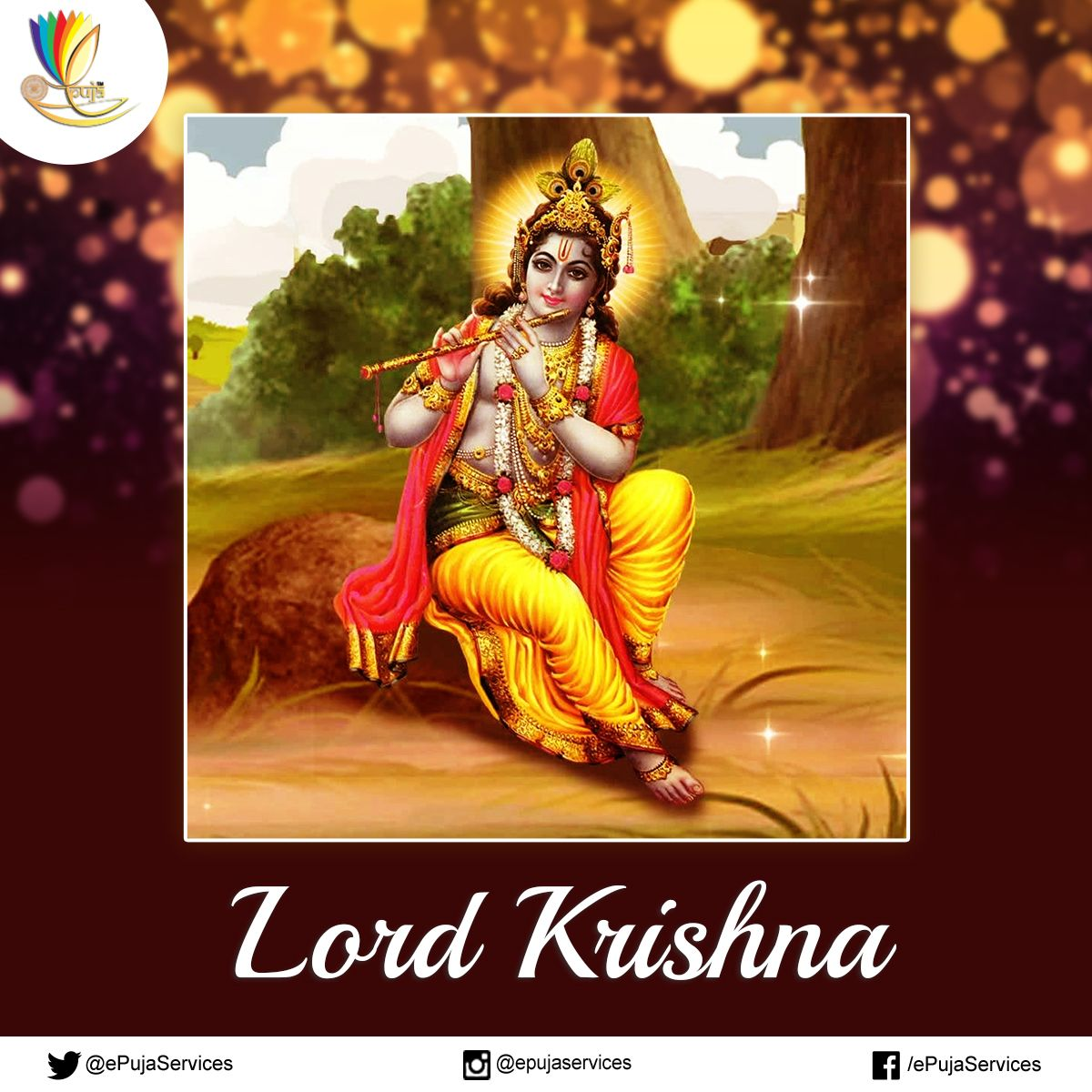 People consider Krishna their and rolled into one