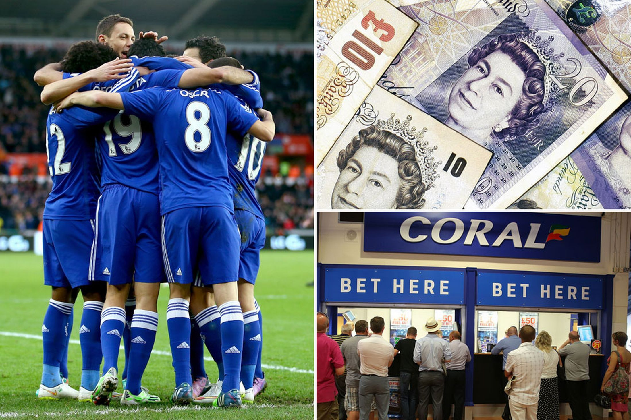 Bookies suffer 'heaviest losses on football ever' after