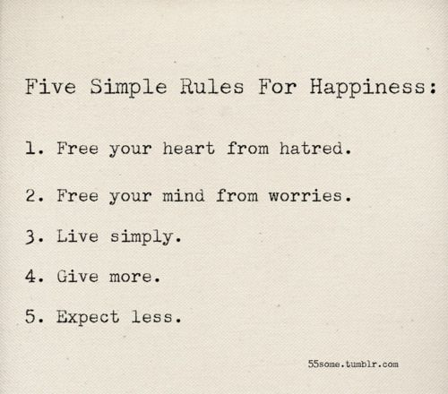 Easy Quotes To Live By: Free Your Heart From Hatred And Your Mind From Worries