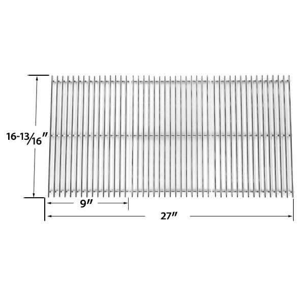 3 pack replacement stainless steel cooking grid for charbroil grill partsbbq - Char Broil Gas Grill Parts