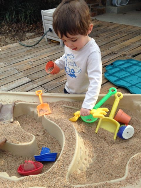 Ethan at sandbox