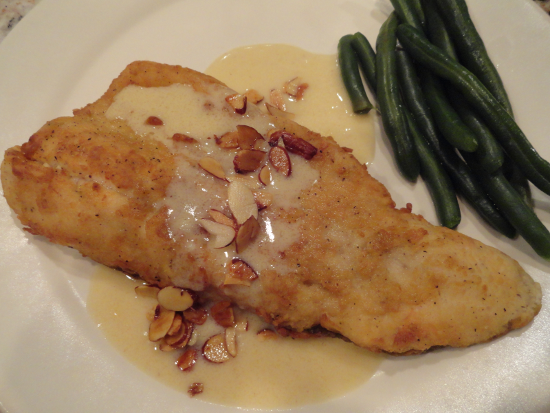 Photo of Trout Almondine with Lemon Cream Sauce