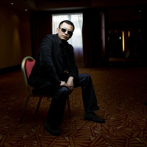 Wong Kar-wai photographed by Denis Rouvre.