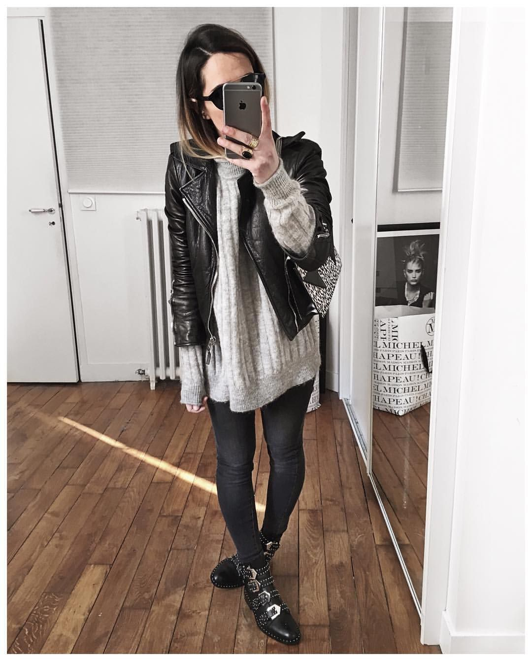 magasin en ligne 9c4ce 13863 Audrey sur Instagram : Hier 😎 • Perfecto #balenciaga (old ...