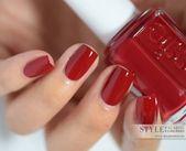 50 kreative rote Acrylnagel-Entwürfe zum Sie anzuregen  Neue Damen Frisuren [ad…