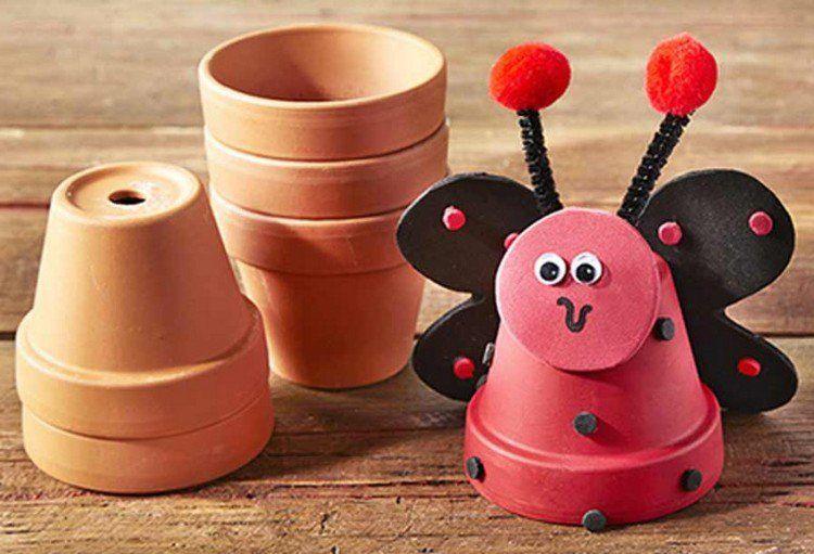 Déco jardin DIY: 35 idées pour intégrer les pots en terre cuite ...