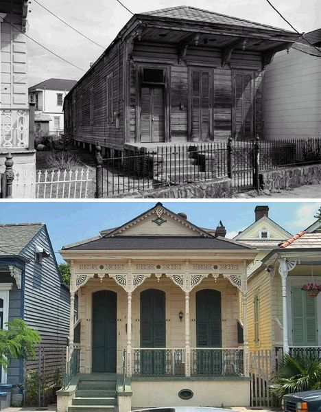 shotgun houses historic facades | Tiny Houses | Pinterest | Shotgun ...