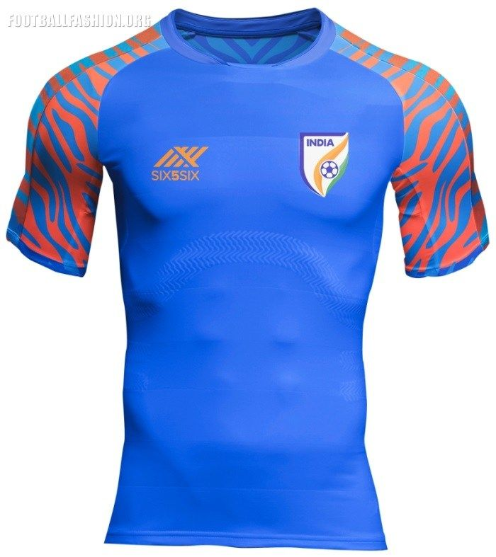 96dff519d01 India 2019 Six5Six Home and Away Football Kit