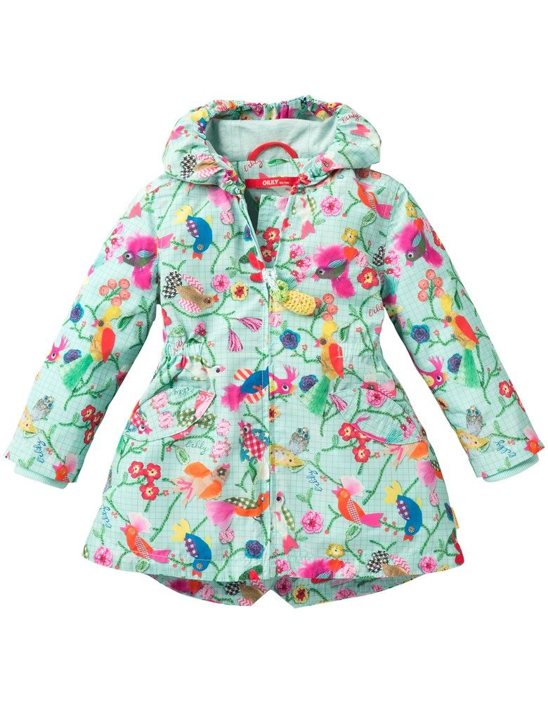 dc2475860d38da Oilily Ciao Blue Bird Rain Coat   Pre-Order   Prints and colorful ...