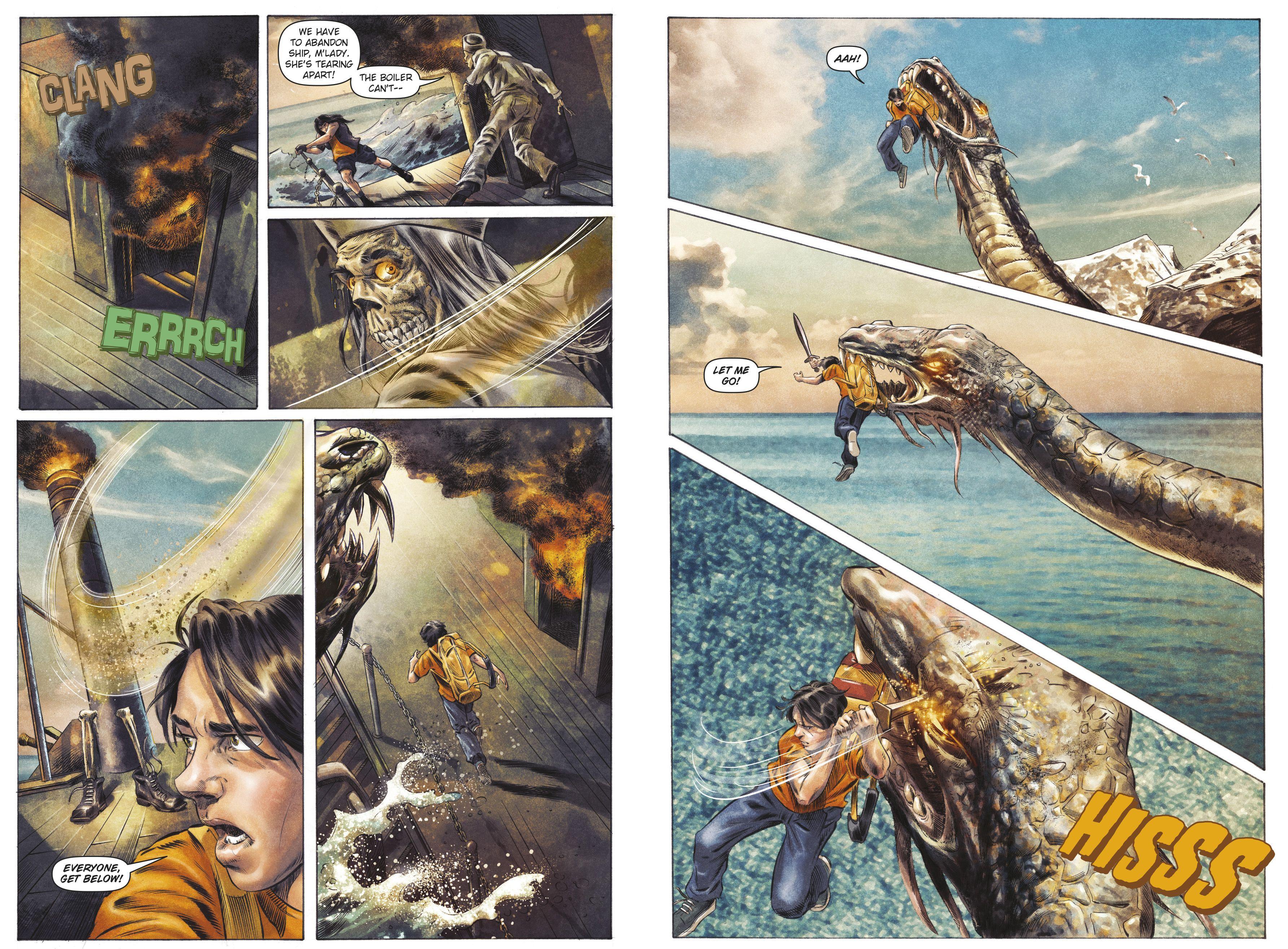 Mark of Athena last chapter comic!! | Percy jackson fan ... |Percy Jackson Graphic Novel Annabeth