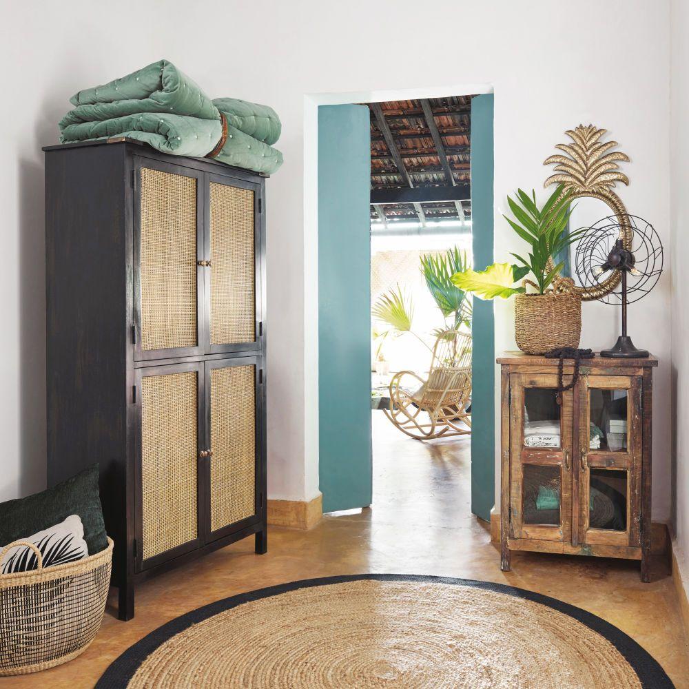 miroir ananas en m tal dor 43x85 in 2018 le nid. Black Bedroom Furniture Sets. Home Design Ideas