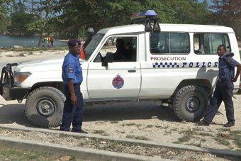 Manus Island police