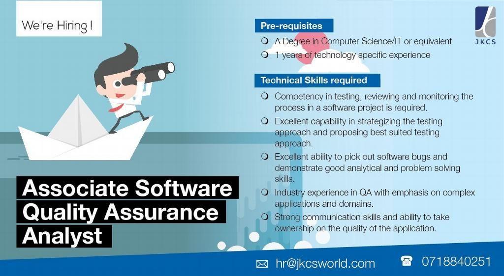 Associate Software Quality Assurance Analyst at John