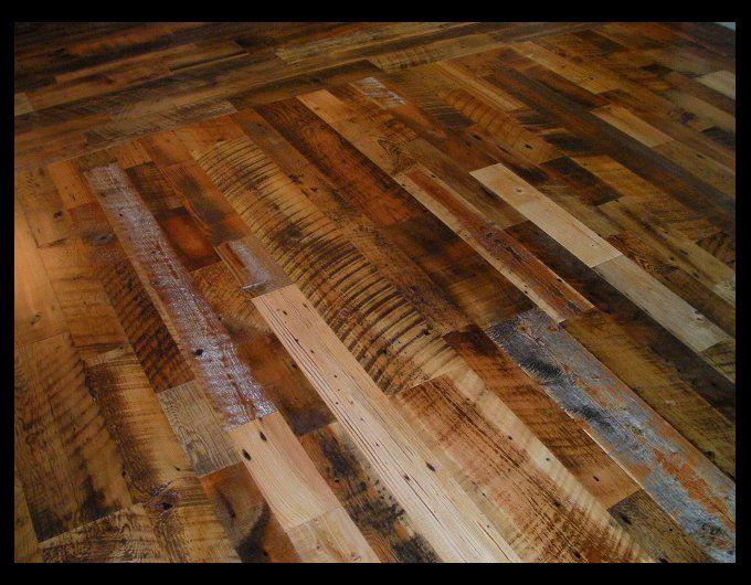 Skip Sanded Reclaimed Mixed Softwoods Engineered Floor Future
