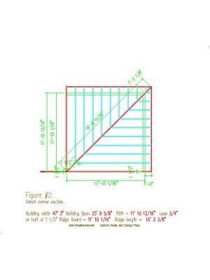 Hip Corners Roof Framing Hip Roof Roof Plan