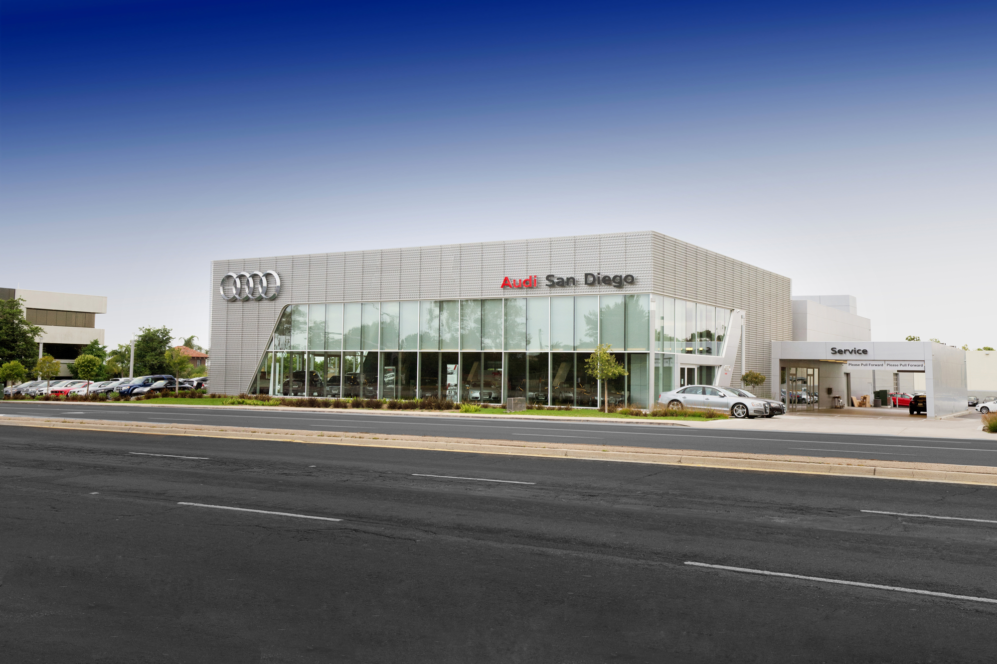 San Diego Audi >> Audi San Diego Dealership Photo 9010 Miramar Road San Diego