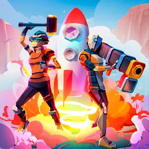 Rocket Royale APK MOD v1.9.1 [Dinero Infinito] Juegos de