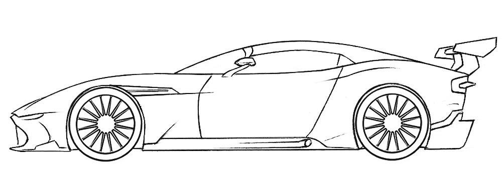 Racing Car Coloring Page Coloringpagez Com In 2020 Race Car Coloring Pages Car Drawing Easy Cars Coloring Pages