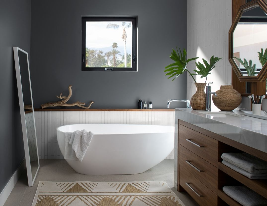 bathroom paint color ideas inspiration benjamin moore on current popular interior paint colors id=96891