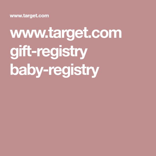 Www Target Com Gift Registry Baby Registry Baby Registry Target