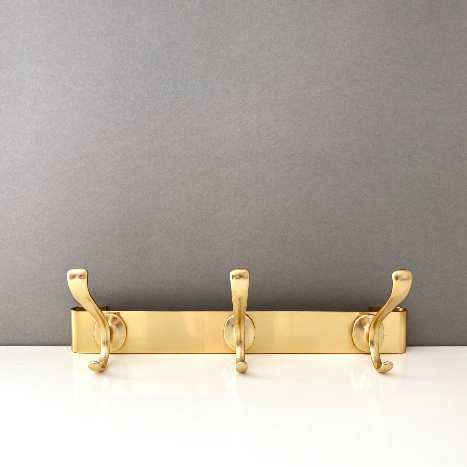 Garderobenhaken Gold Ikea
