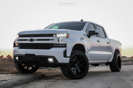 2019 Chevrolet Silverado 1500 22x12 44mm Arkon Off Road Lincoln Chevy Trucks Silverado Chevy Pickup Trucks Custom Chevy Trucks
