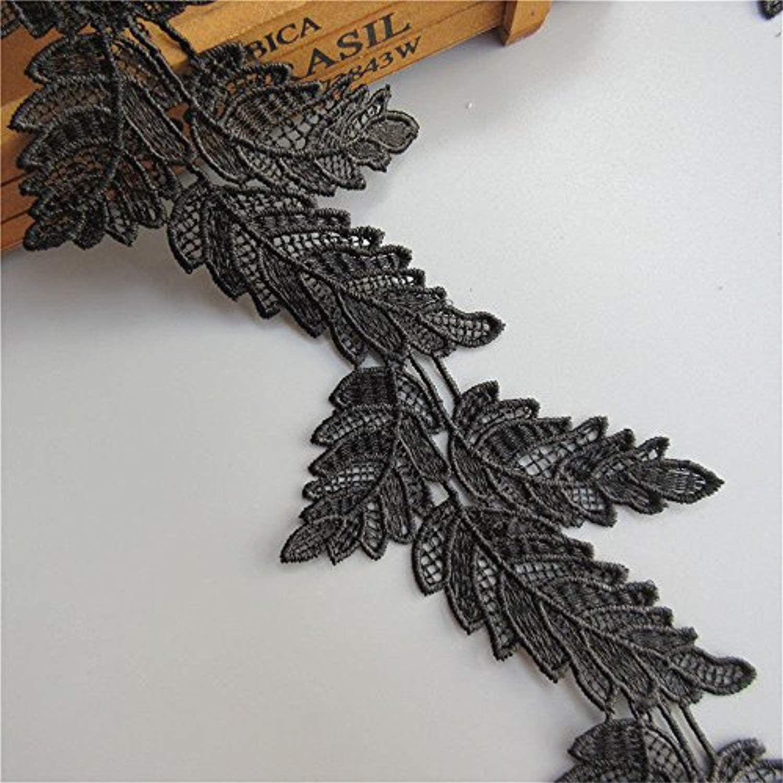 1 YARD Satin Ribbon Leaf Leaves trim trimming CRAFTS lace Embellishment Wedding