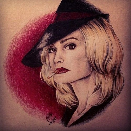 Tattoo Of Fiona Goode The Supreme Of American Horror Story Coven