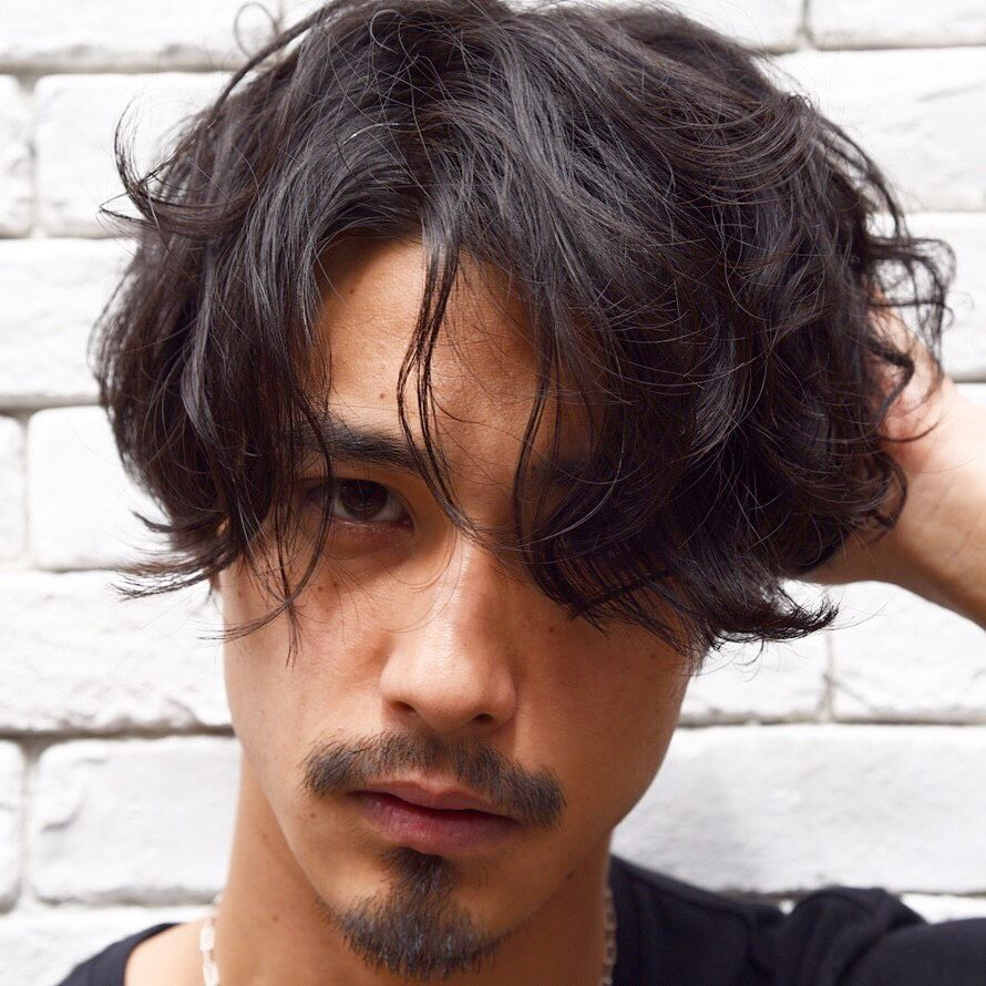 748a7b31e1 Pin by Tyler Wisler Home on Hair Envy... in 2019 | メンズ パーマ ...