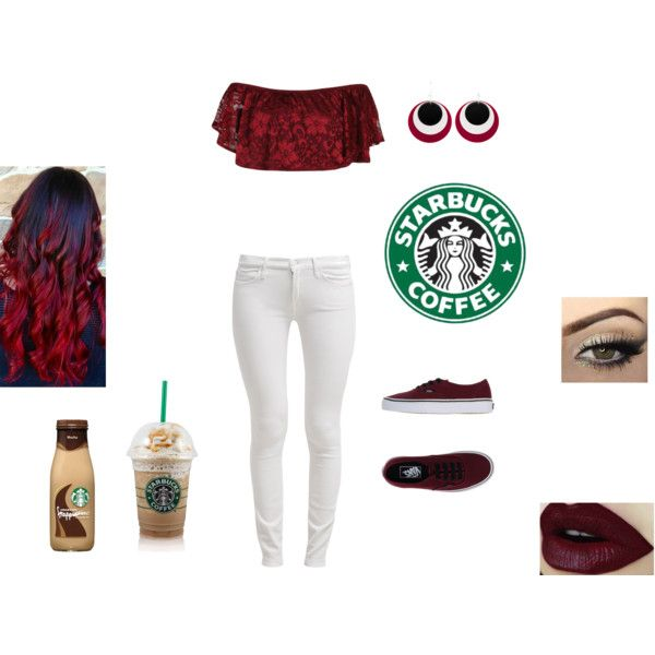 Starbucks Run: Day 1 by lovesniallhoran8 on Polyvore featuring Boohoo, 7 For All Mankind, Vans and Croft & Barrow