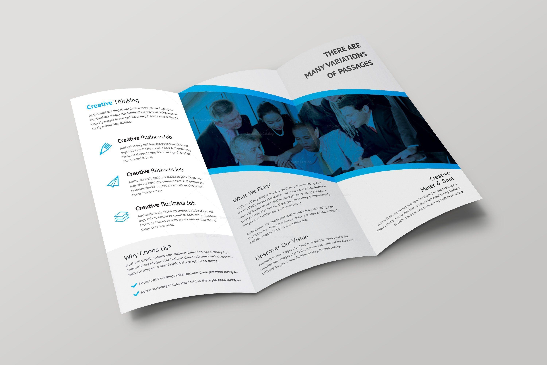 Athena Professional Tri-fold Brochure Design Template 001698 - Template Catalog