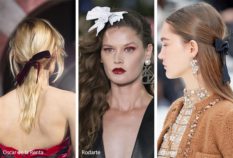 Fall Winter 2020 2021 Hair Accessory Trends Short Hair Accessories Runway Hair Trending Accessories