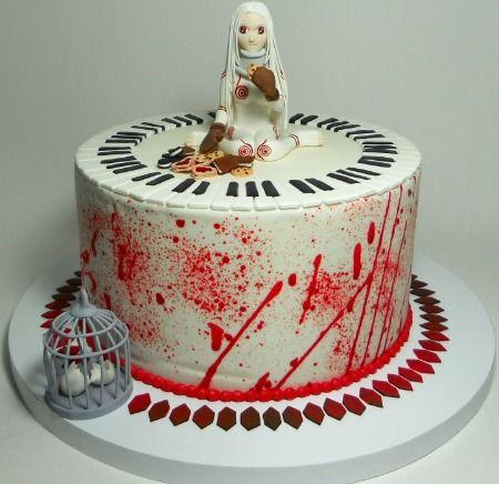 Otaku Room Birthday Cake