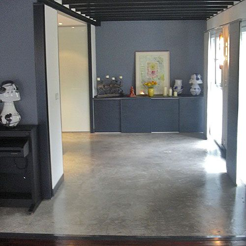 beton cire 4 beton vloer Pinterest Concrete, Salons and House