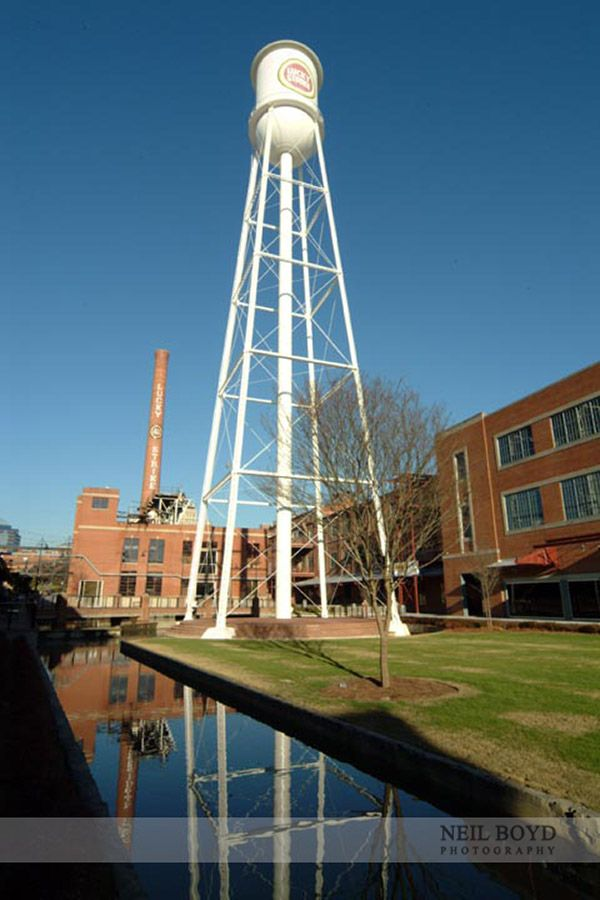 Historic American Tobacco District In Durham Nc Raleigh Weddings