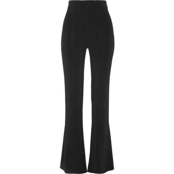 asymmetric flared trousers - Black Cushnie et Ochs BZ6efzax