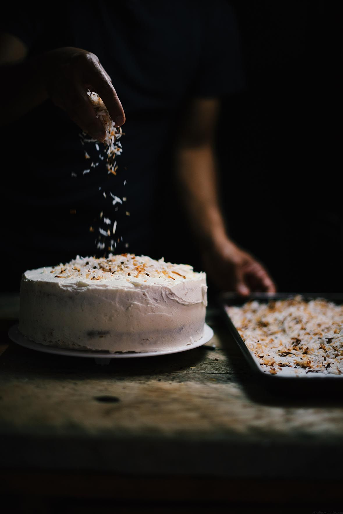 cardamom and toasted coconut cake | A Brown Table
