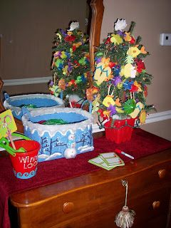 Party Planning Mom: Christmas In July ~ Decorations & Crafts ...