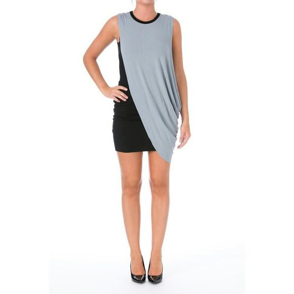BAILEY 44 Action Painting Gray Jersey Dress Manufacturer:?Bailey 44Size:?XSSize Origin:?USManufacturer Color:?Black GrayRetail:?$174.00Condition:?New with tagsStyle Type:?SexyCollection:?Bailey 44Silhouette:?SheathSleeve Length:?SleevelessClosure:?PulloverDress Length:?Knee-LengthTotal Length:?34 Inches Bust Across:?15 Inches Waist Across:?12 Inches Hips Across:?Inches Material:?94% Rayon/6% SpandexFabric Type:?JerseySpecialty:?Colorblock Style Number:?5050757 Bailey 44 Dresses