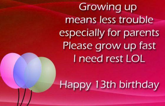 Birthday Card Messages 13 Hairstylewomens Pinterest