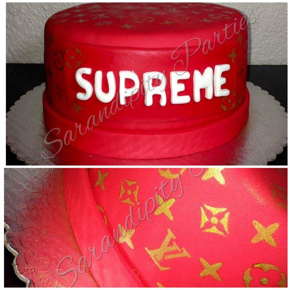 Supreme Louis Vuitton Cake Supreme Louisvuitton Cake