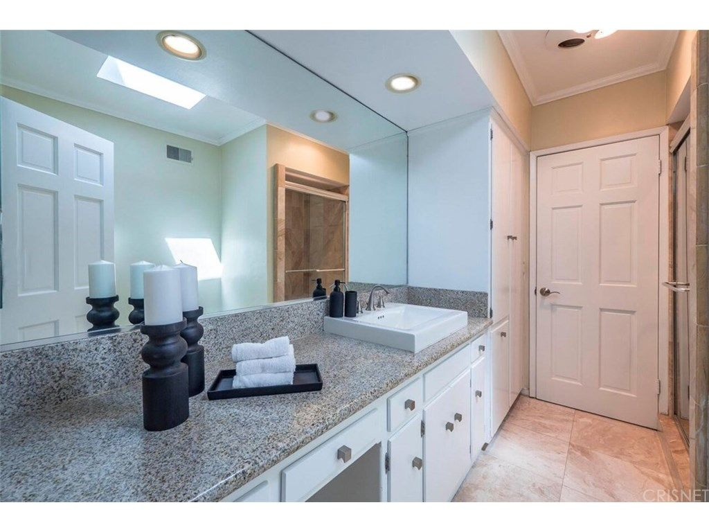 The foyer w 20 ft high ceilings is elegant w marble flooring! High ...