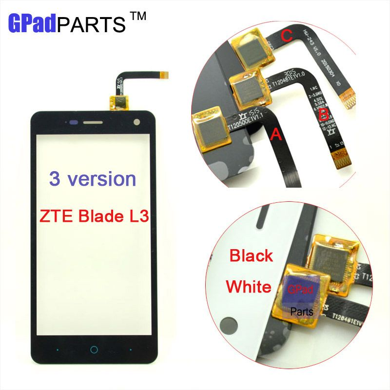 100% Test Lcd Screen Display for ZTE Blade L3 Touch Screen Glass ...