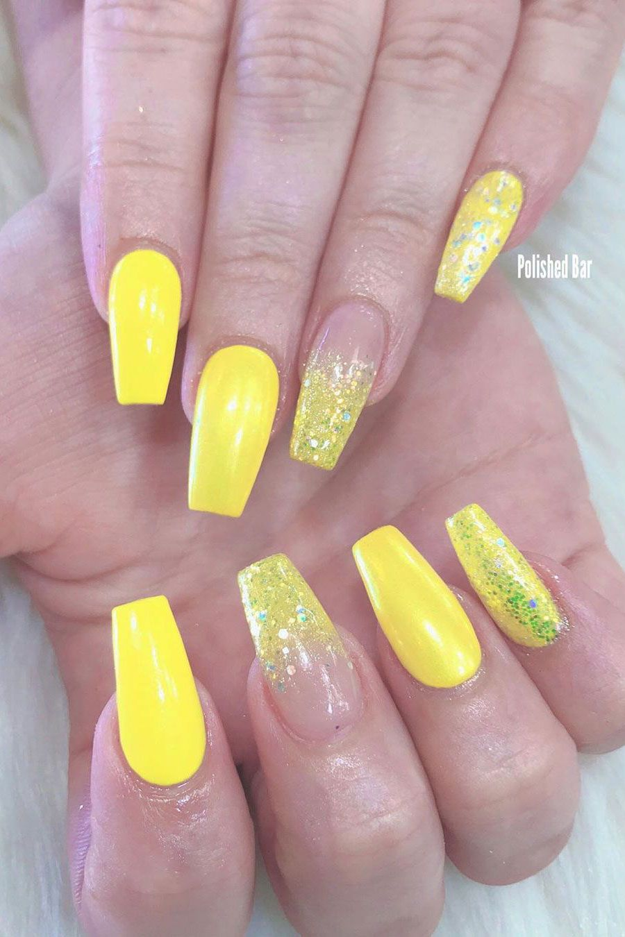 Best Yellow Nail Art Designs For Summer 2019 Stylish Belles Yellow Nails Yellow Nail Art Nails