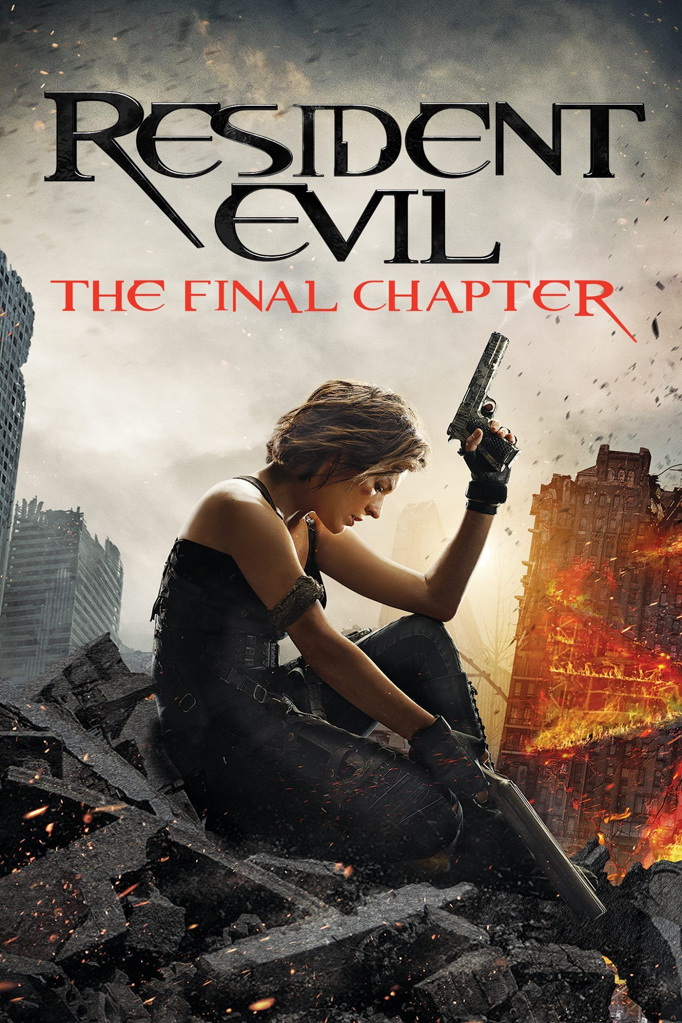 Can Alice finally destroy the T-Virus and defeat a zombie infected world? Find out in Resident Evil: The Final Chapter. Now on Digital! http://tinyurl.com/lom5b9j