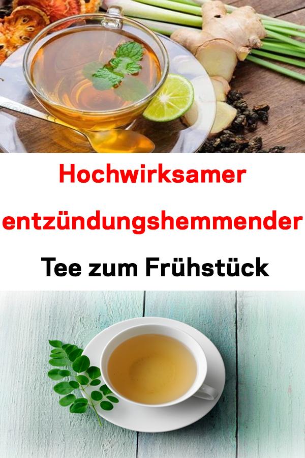 Entzündungshemmender Tee