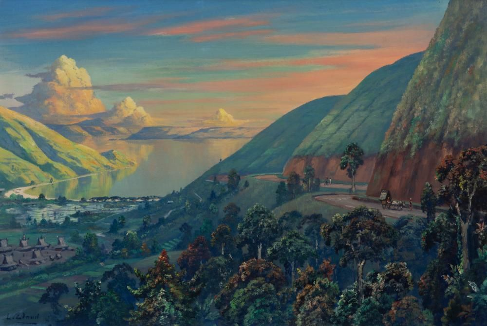 Sold Price Leo Eland At Lake Toba Sumatra May 1 0119 6 30 Pm Cest Art Through The Ages Toba Lake Toba